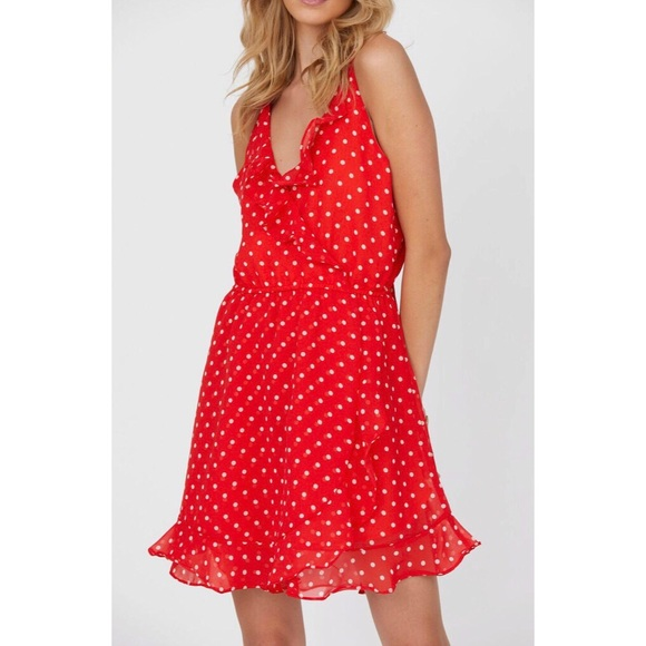 14a7c0629a6d Haute Rogue Dresses | Polka Dot Donna Dress | Poshmark